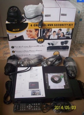 CCTV wired NVR IP Camera DIY Complete KIT 2TB