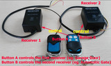 Wireless Remote Receiver KIT For both Garage & Gate