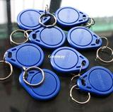 10 PCS x RFID ID Proximity Tag Key Ring 3#