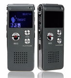 8GB Digital Audio Voice Recorder Dictaphone