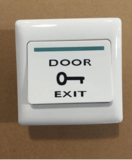 Plastic Door Release Exit Square Button (Flush)