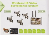 Wireless HD Video Surveillance DIY Kit