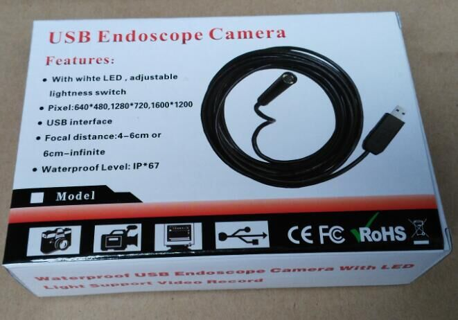 APP USB Borescope Endoscope Camera for Android mobile phone