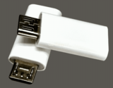 USB type c female to USB micro 3A OTG converter Connector