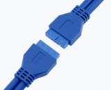USB3.0 20PIN Female-Female Converter Adapter Cable